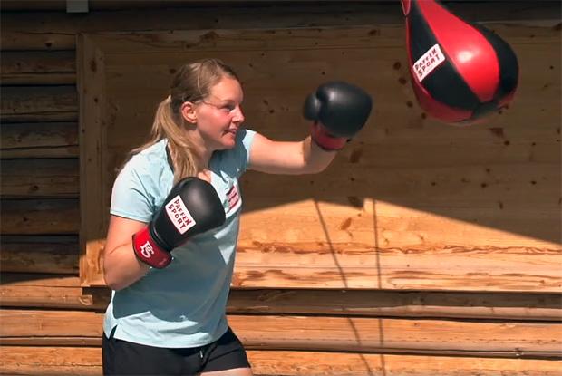 Julia Grünwald tauscht Skier gegen Boxhandschuhe
