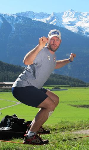 Hans Grugger beim Training. Foto: ÖSV/Aichner