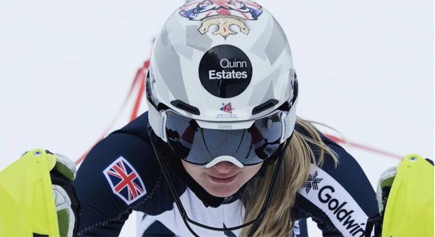 Charlie Guest kann beim letzten EC-Slalom der Saison 2018/19 in Folgaria jubeln (Foto: Charlie Guest / instagram)