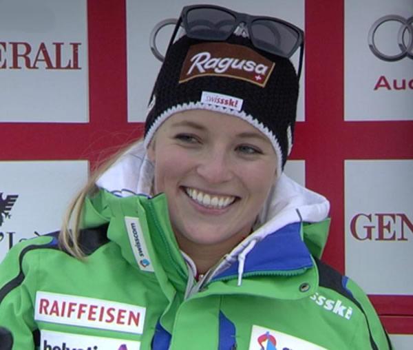 Lara Gut gewinnt Abfahrt von Val d'Isere