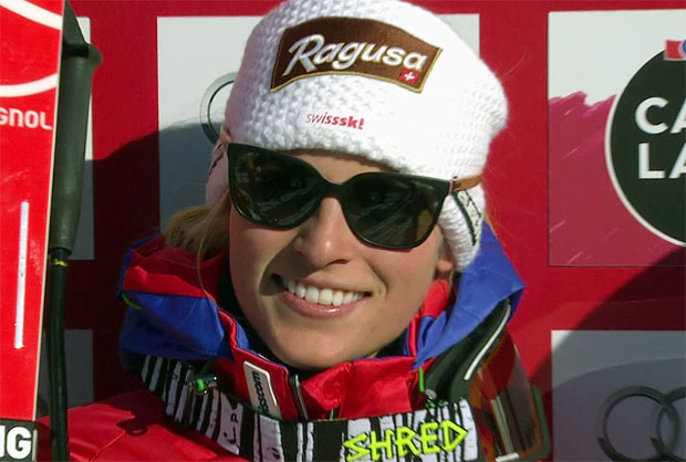 Lara Gut gewinnt Heim-Abfahrt in St. Moritz