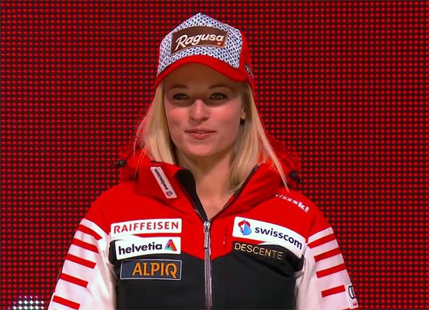 Bei Lara Gut steht ein Ski-Ausrüsterwechsel im Raum