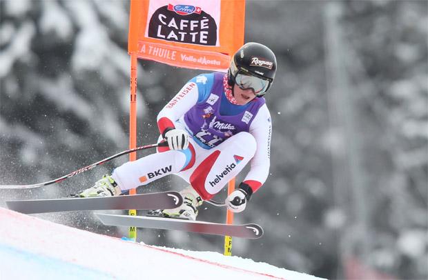 © Kraft Foods / Lara Gut hat die erste Abfahrt am Freitag in La Thuile gewonnen
