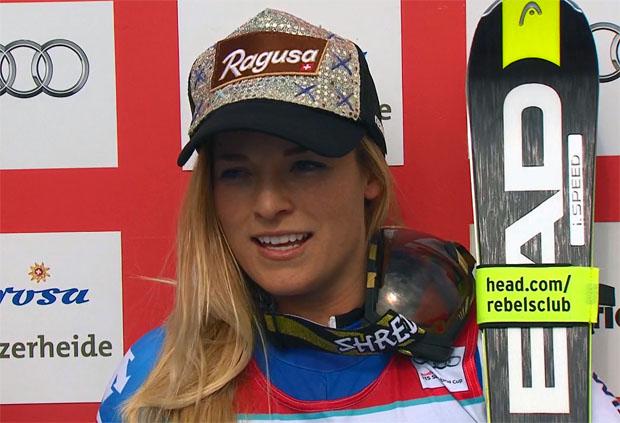 Gesamtweltcup-Siegerin 2015/16: Lara Gut