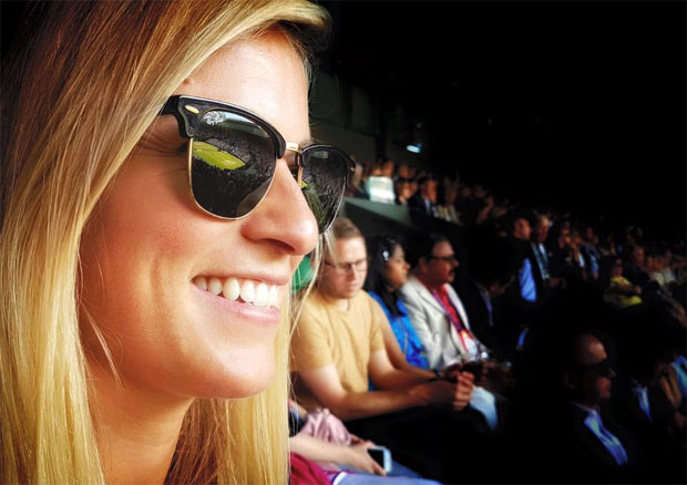 I had a lovely time in Wimbledon with some amazing tennis moments, sport is just great! (Foto Facebook / Lara Gut)