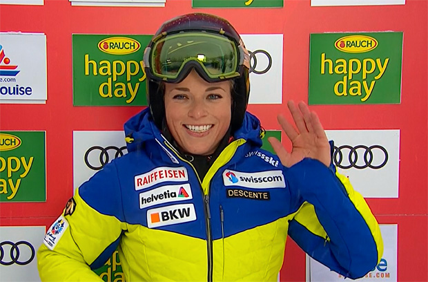 Lara Gut gewinnt Super-G in Lake Louise
