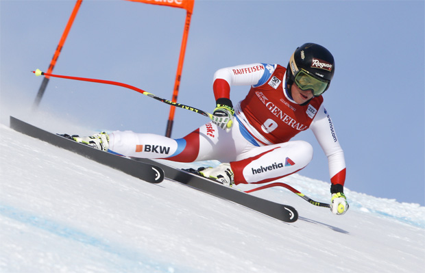 © HEAD / Lara Gut geht als Favoritin beim Riesenslalom in Sestriere an den Start.