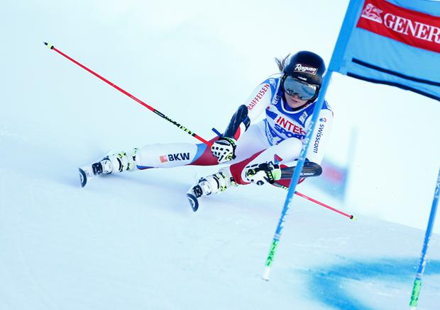 © HEAD / Lara gut konnte bereits beim 1. Training in Val d'Isere überzeugen