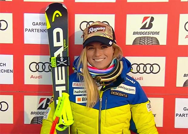 Lara Gut feiert in Garmisch dritten Saisonsieg im Super-G