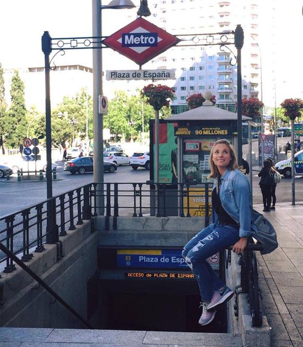 Lara Gut verbringt ein paar erholsame Tage in Madrid (Foto: Lara Gut / Facebook)