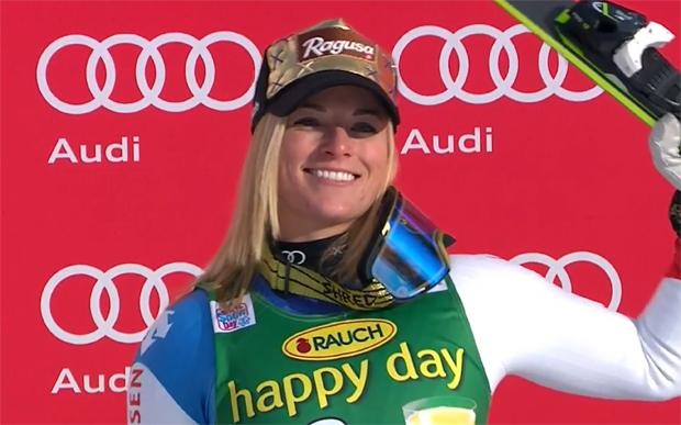 Lara Gut möchte im Riesentorlauf wieder erfolgreich sein