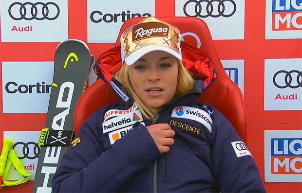 Lara Gut gewinnt Super-G von Cortina d'Ampezzo 2018