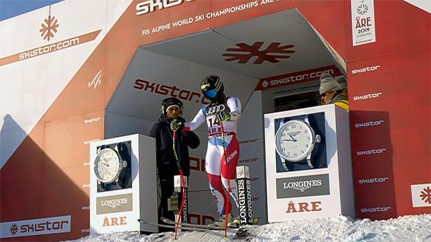 Die schnellste Zeit ohne Torfehler erzielte die Schweizerin Lara Gut-Behrami