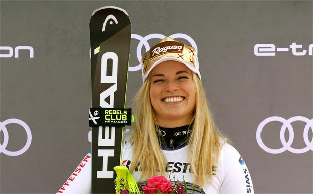 Vorzeitiges Saisonende für Lara Gut-Behrami nach Sturz im Abfahrtstraining (Foto: HEAD / Alain Grosclaude/Agence Zoom)