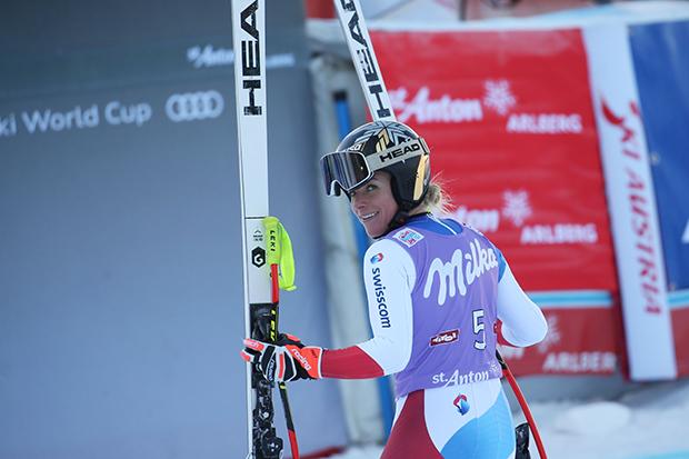Lara Gut-Behrami siegt trotz Fehler im unteren Teil (Foto: © HEAD/GEPA pictures/ Daniel Goetzhaber)