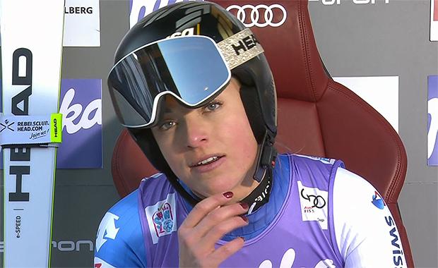 Lara Gut-Behrami gewinnt Super-G in St. Anton am Arlberg