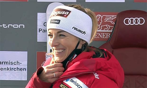 Lara Gut-Behrami gewinnt Super-G in Garmisch-Partenkirchen am Samstag