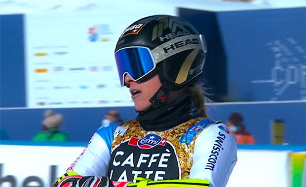 Ski-WM 2021: Lara Gut-Behrami zeigt beim 2. Abfahrtstrainingslauf ihre fahrerische Klasse