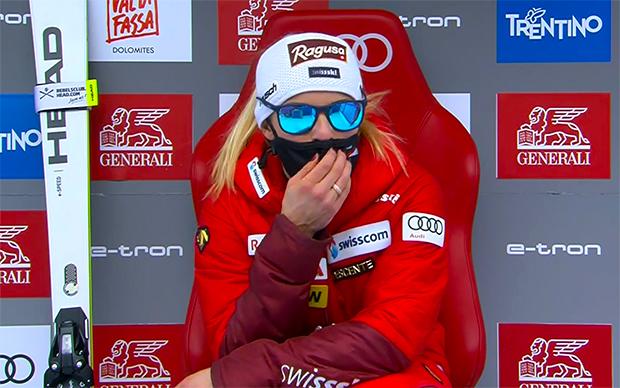 Nicht jedem gefiel Lara Gut-Behramis Kurzauftritt beim Riesentorlauf in der Lenzerheide