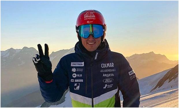 Auch Stefan Hadalin freut sich auf die Olympiasaison 2021/22 (Foto: © sloskialpinteam / Instagram)