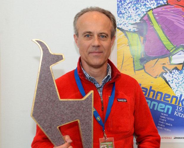 © hahnenkamm.com  /  Technischer Delegierter Daniel Menestrina im Interview