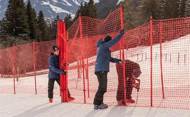Hahnenkamm News: Die Arbeiten auf der Streif laufen auf Hochtouren weiter (Foto: © Hahnenkamm.com)