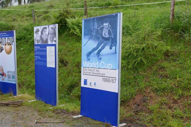 © hahnenkamm.com / Ausstellung auf der Seidlalm: Die Geburt des Alpinen Skiweltcups 1966/1967