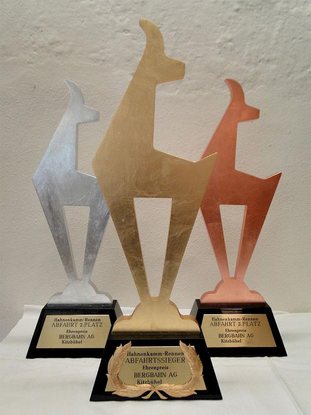© hahnenkamm.com / Ein Sieg in Kitzbühel bringt nicht nur Ehre und Pokale, sondern auch ein hohes Preisgeld