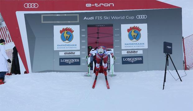 © Hahnenkamm.com / Erstes Europacup-Abfahrtstraining in Kitzubühel