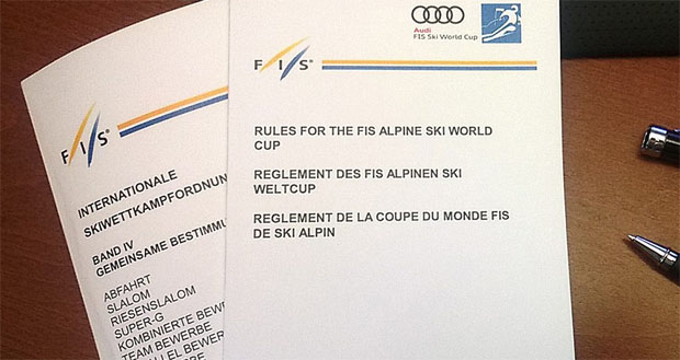 """© hahnenkamm.com  /  """"Rules for the FIS Alpine Ski World Cup"""""""