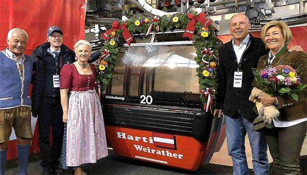 ….. ebenso wie Harti Weirather (Foto: © Hahnenkamm.com)