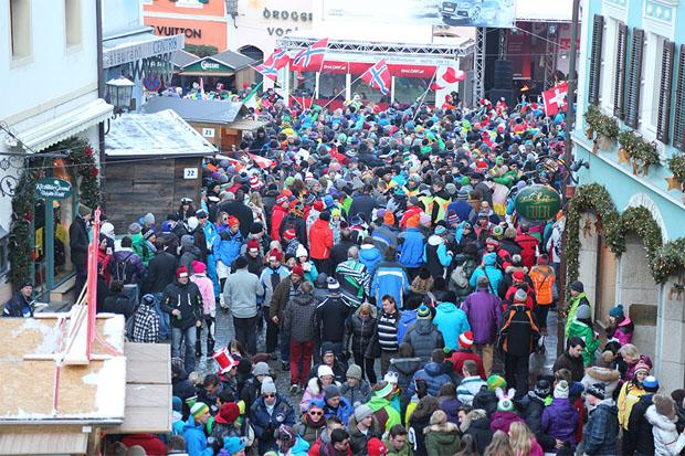 80 Jahre Hahnenkammrennen in Kitzbühel, die Party kann beginnen (© hahnenkamm.com)