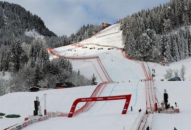 © hahnenkamm.com / LIVE: 2. Abfahrtstraining der Herren in Kitzbühel, Vorbericht, Startliste und Liveticker