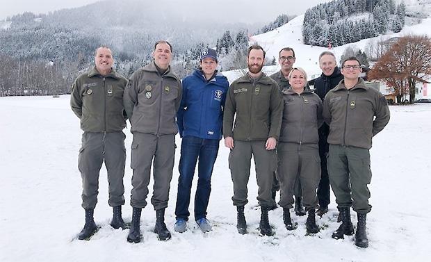 Hahnenkamm News: Erste Einsatzbesprechung mit dem Bundesheer