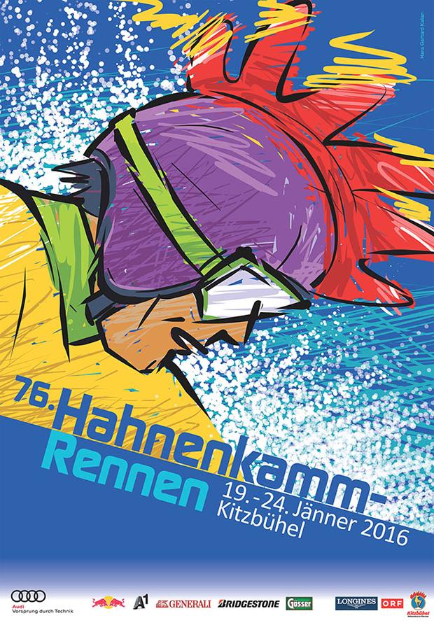 © hahnenkamm.com / Das Hahnenkamm-Plakat 2016