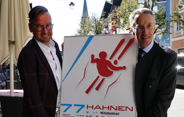 © hahnenkamm.com / V.l.: Georg Pircher, Michael Huber
