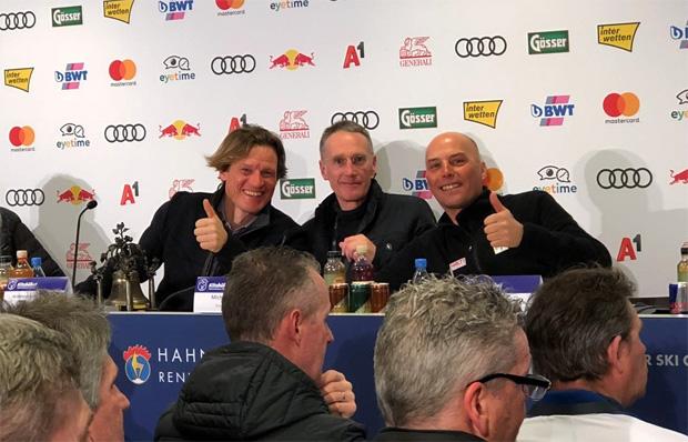 © Hahnenkamm.com / Letzes Team Captains Meeting 2019 am Samstag