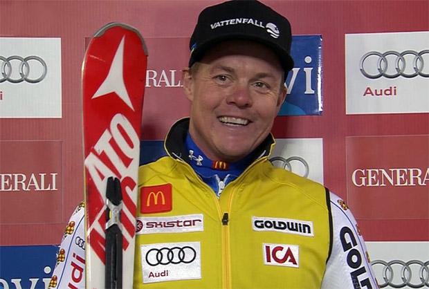 Schwede Mattias Hargin gewinnt EC-Slalom in drei Durchgängen in Pozza di Fassa