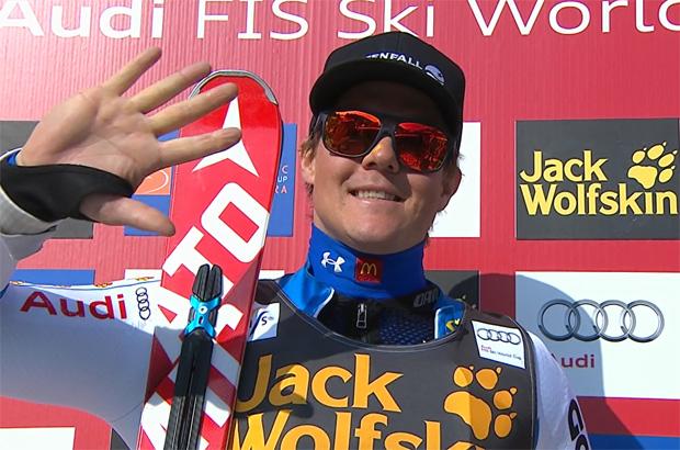 Mattias Hargin siegt beim Heim-FIS-Slalom in Kåbdalis vor drei Norwegern