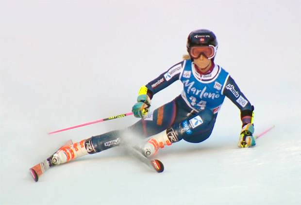 Kristine Gjelsten Haugen gewinnt EC-Riesenslalom beim Europacup-Finale in Soldeu
