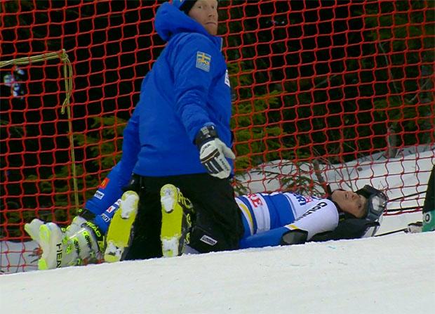 Riesenpech für Sara Hector beim Heim-Riesentorlauf in Åre