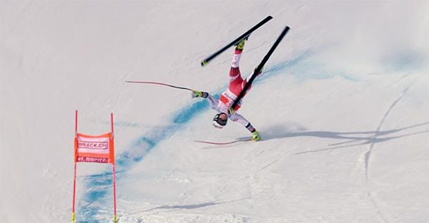 Glück im Unglück für Michaela Heider nach Sturz in St. Moritz