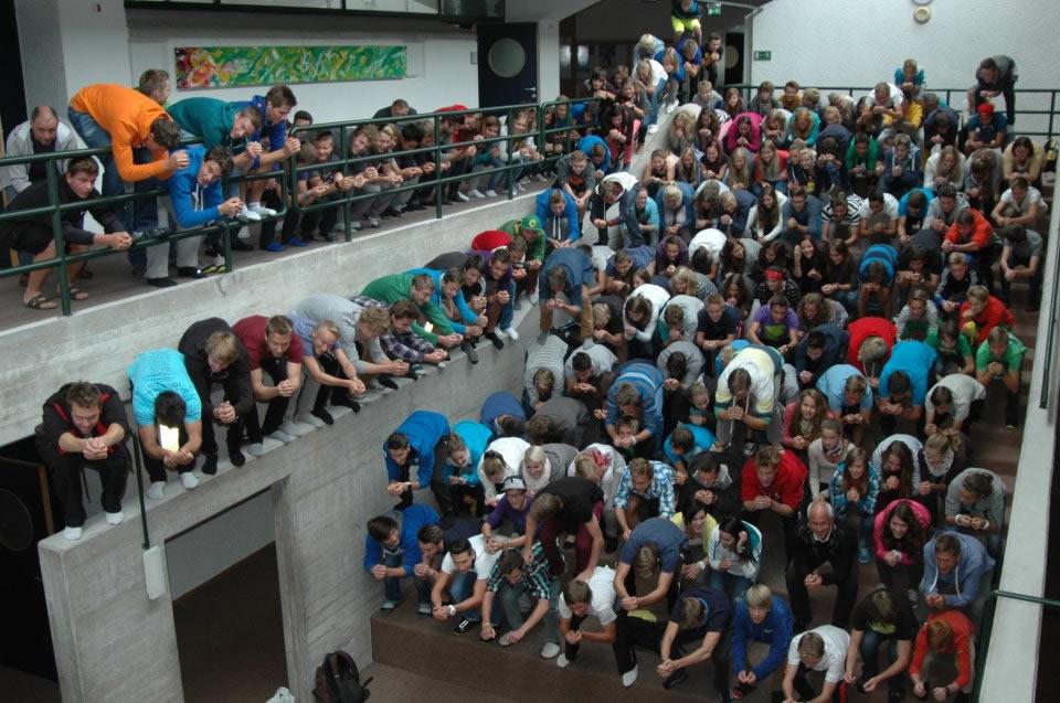 Skigymnasium in Stams: Über 170 Sportler HERMINATEN!!!!