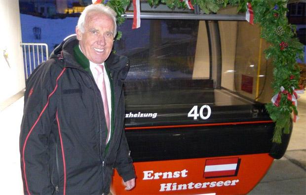 © hahnenkamm.com / Hahnenkamm News: Ernst Hinterseer feiert seinen 85er