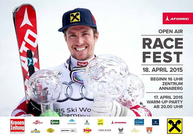 Marcel Hirscher Race Fest 4.0 am 18. April 2015 in Annaberg