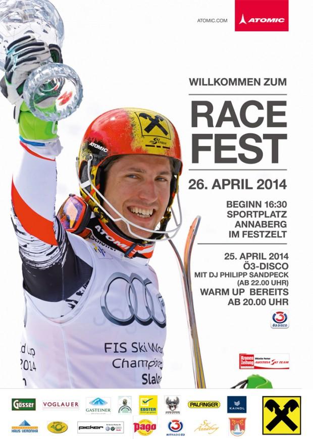 Marcel Hirscher - RACE FEST 2014