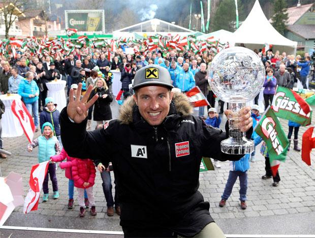© marcelhirscher.at / Marcel Hirscher beim Racefest 4.0