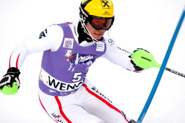 © Kraft Foods / Gesamtweltcupsieger 2011/12: Marcel Hirscher