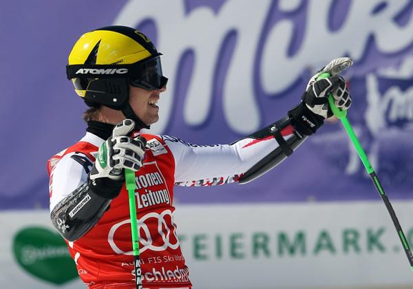 © Kraft Foods  /  Auch Riesentorlauf-Weltcupsieger Marcel Hirscher nützte die perfekten Bedingungen auf dem Mölltaler Gletscher für die letzte Feinabstimmung.