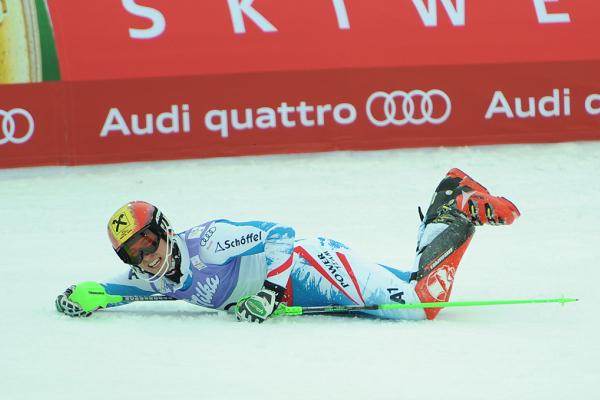 © Ch. Einecke (CEPIX)  /  Marcel Hirscher - Slalomweltmeister 2013